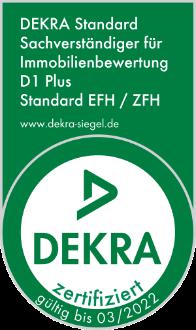 Immobilienbewertung München - D1 DEKRA zertifiziert